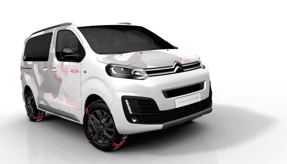 SpaceTourer 4X4 Ë Concept: El vehículo de ocio perfecto según Citroën