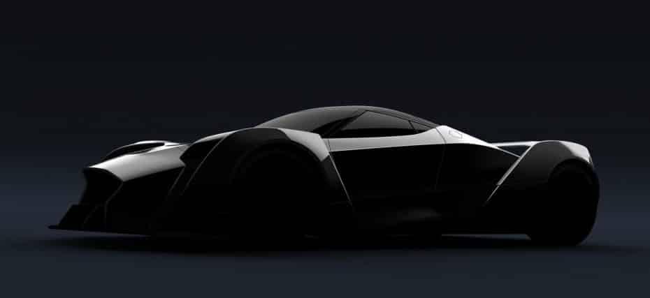 ¡Este es el Dendrobium Concept! Un superdeportivo totalmente eléctrico nacido en Singapur