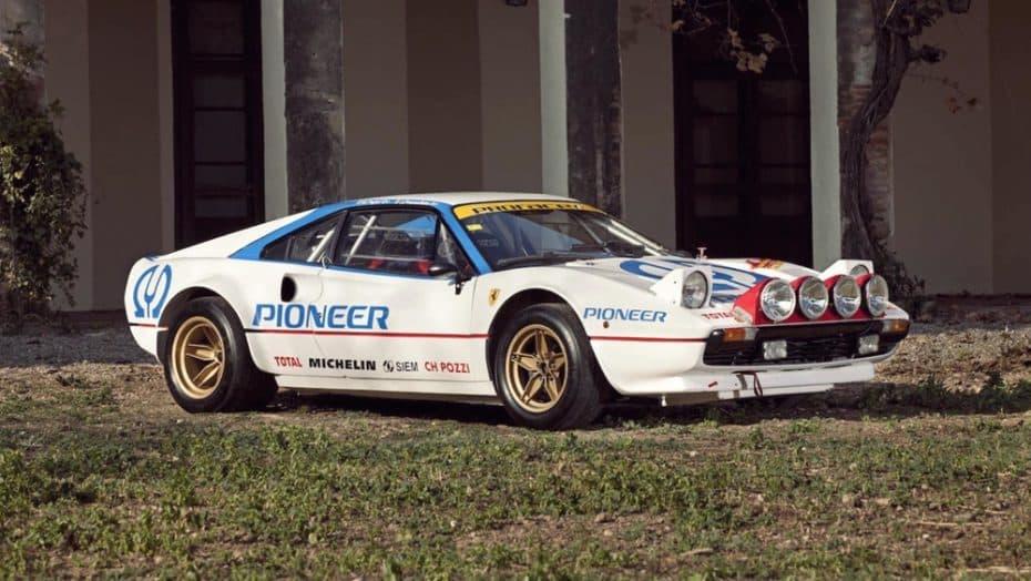 Solo se fabricaron 14 Ferrari 308 GTB Group 4 ¡Y este se vende con matrícula española!