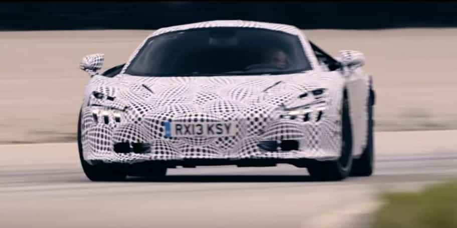 La prometedora II generación de la Super Series de McLaren nos deleita deslizándose sobre la pista