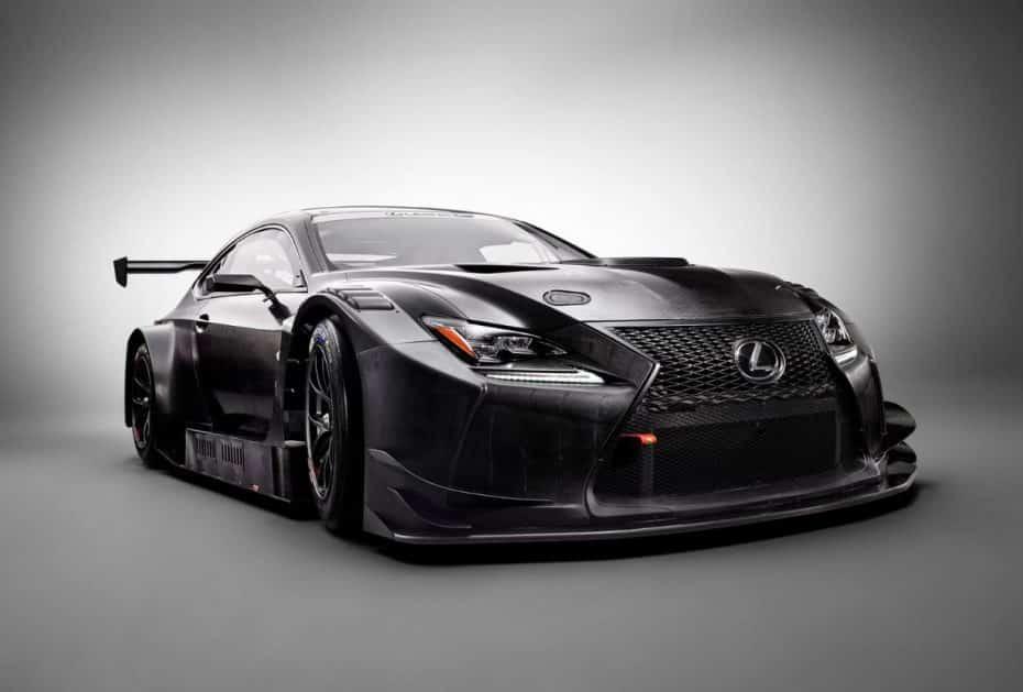 Lexus RC F GT3 2017: Una bestia con un V8 de 5.4 litros y más de 500 CV