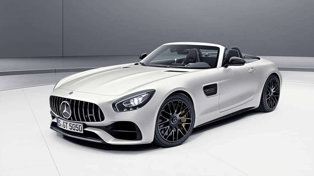 mercedes amg gt c roadster edition 50 un plus para los. Black Bedroom Furniture Sets. Home Design Ideas