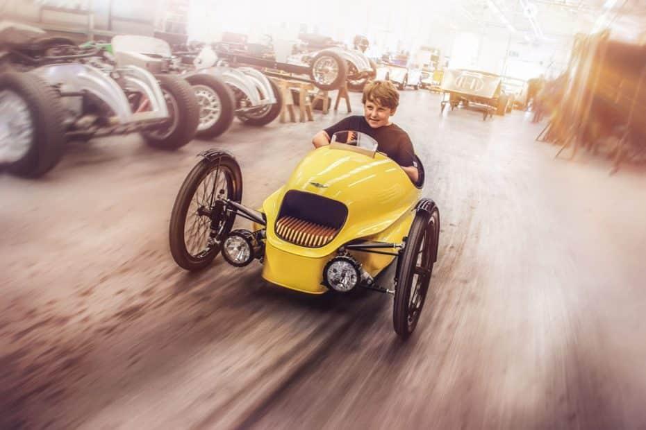 Morgan EV3 Junior: El juguete idóneo para que tus hijos aprendan lo que es la pasión