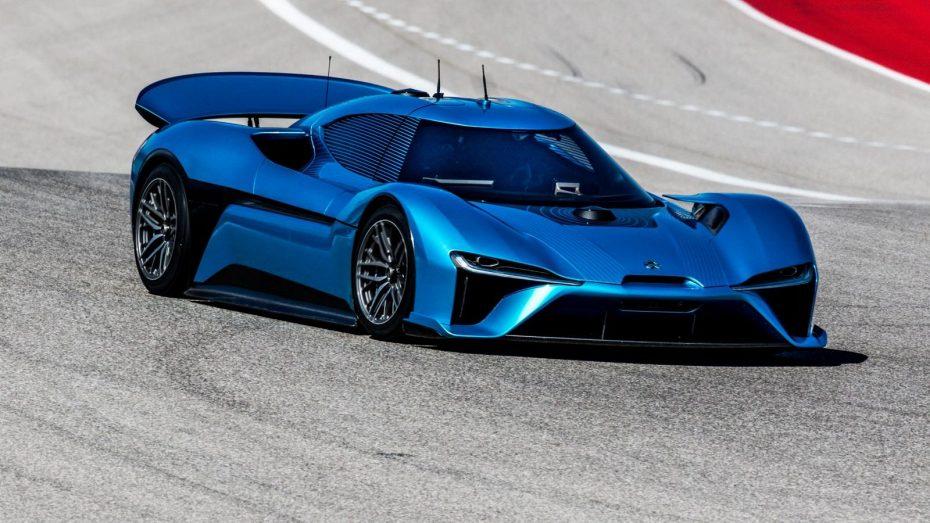 NIO EP9: Con 1.300 CV eléctricos y sin conductor, arrasó en Nürburgring y repite jugada en COTA