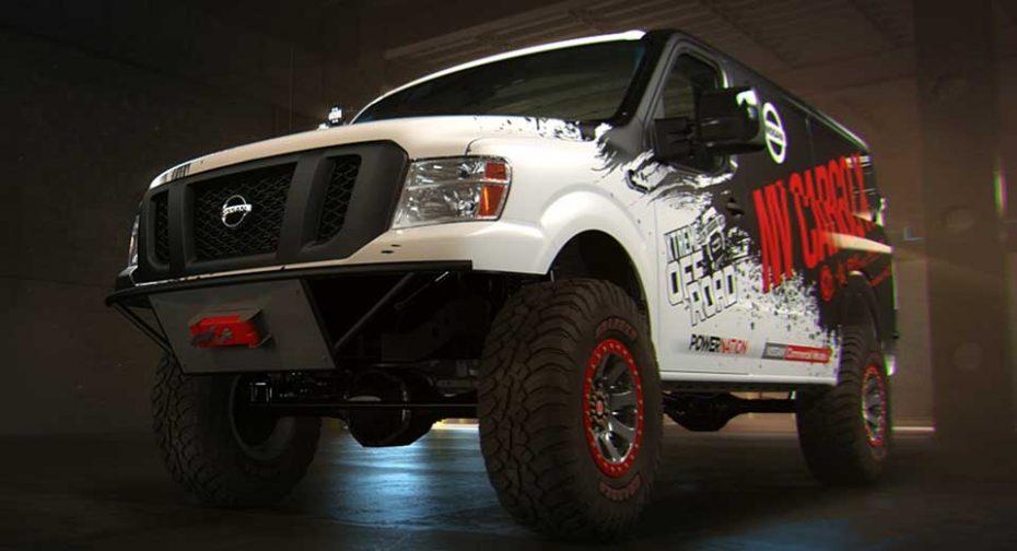 Nissan NV Cargo X: Una atípica furgoneta de reparto que te llevará a la cima, literalmente