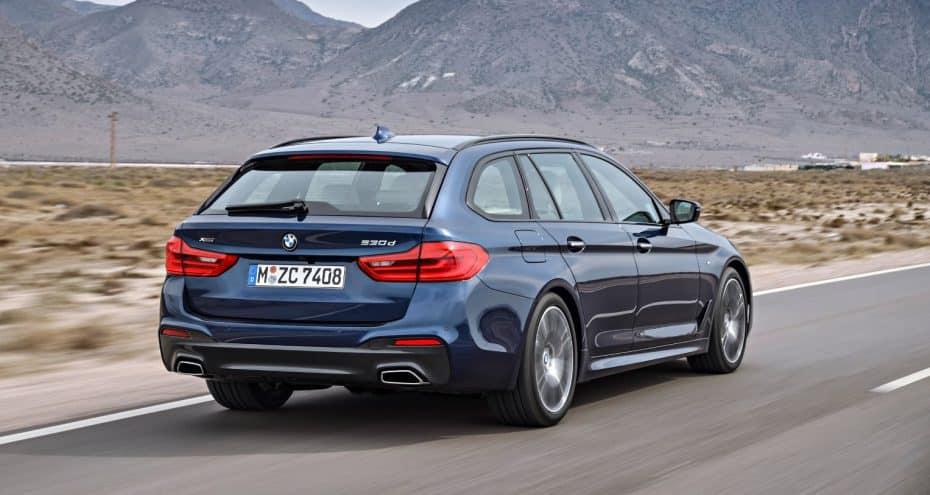 Así es el nuevo BMW Serie 5 Touring: Plantando cara a la «polivalencia» de los SUV