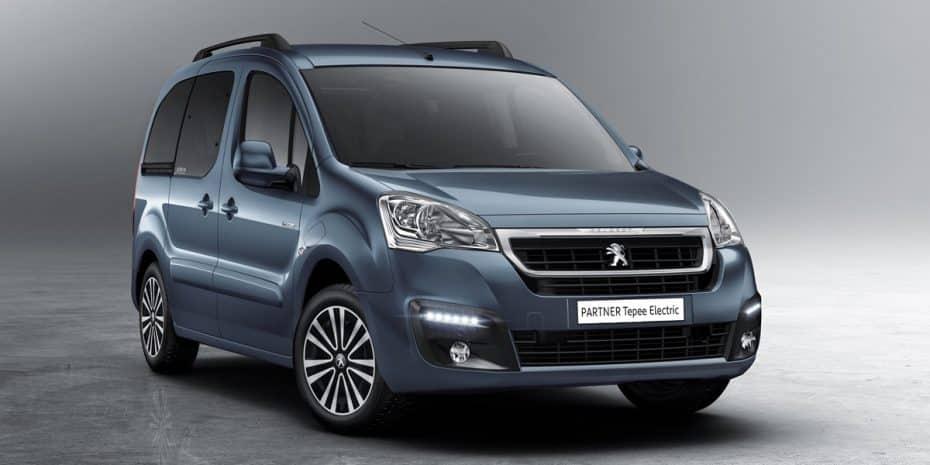 Peugeot introduce el Partner Tepee Electric: Más polivalente y cero emisiones