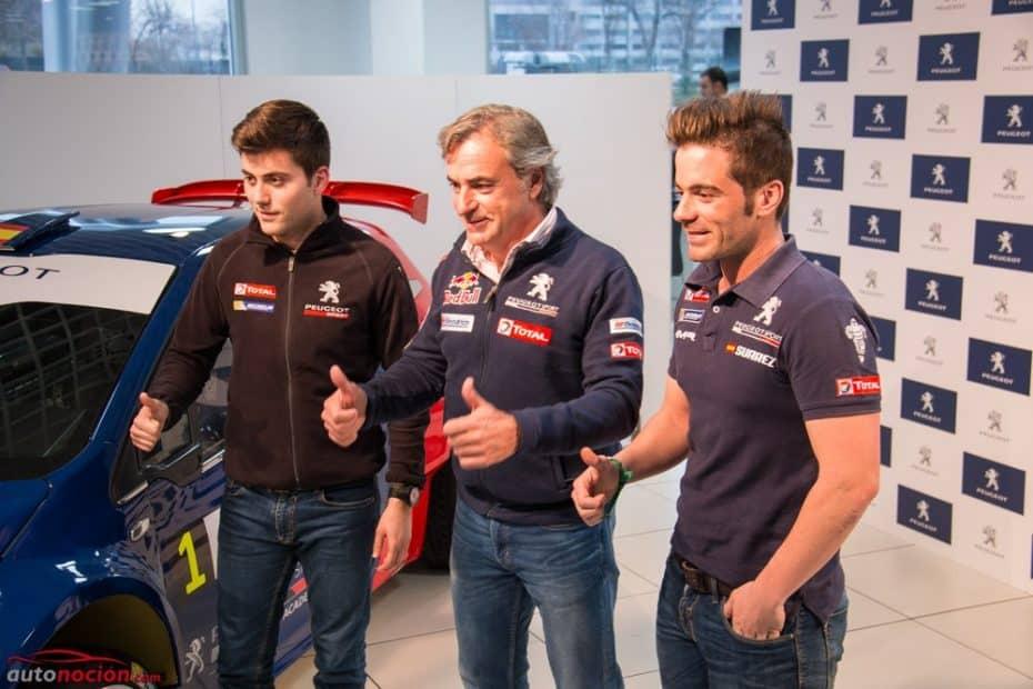 Peugeot nos presenta su Racing Team 2017: Dos equipos españoles con Carlos Sainz al mando