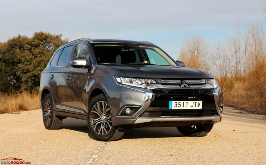 Prueba Mitsubishi Outlander Motion 2WD 200 MPI CVT: Grande, gasolina y a muy buen precio