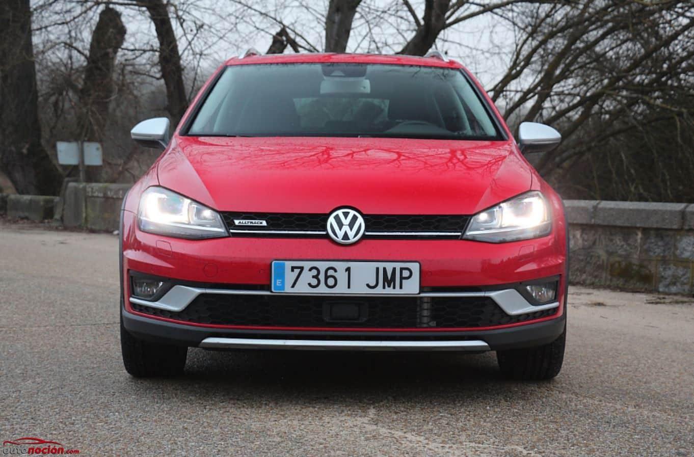 Prueba Volkswagen Golf Alltrack 5