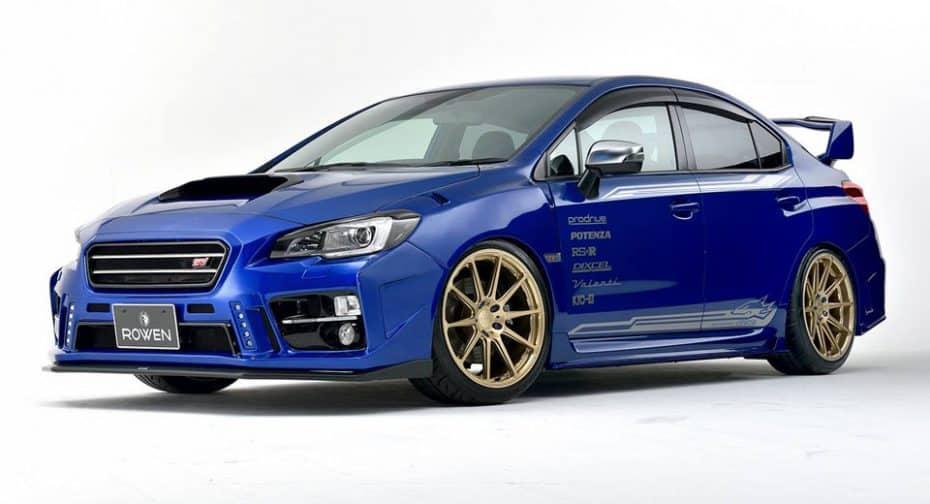 Rowen ha transformado el Subaru WRX STI en un espectacular coche de rally para la calle