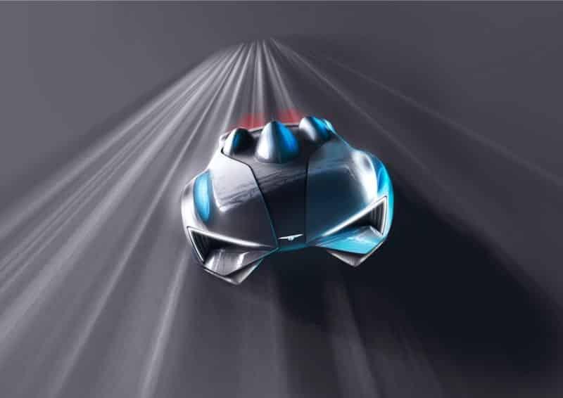 Sistema de carga por turbina y diseño futurista: Las premisas del superdeportivo de Techrules