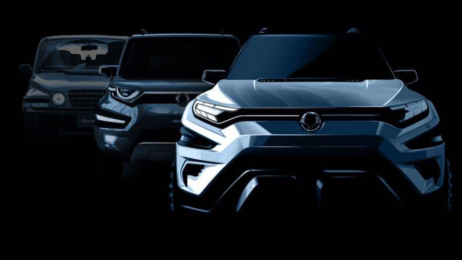 El concept XAVL de SsangYong verá la luz en el Salón de Ginebra: Un imponente SUV de 7 plazas
