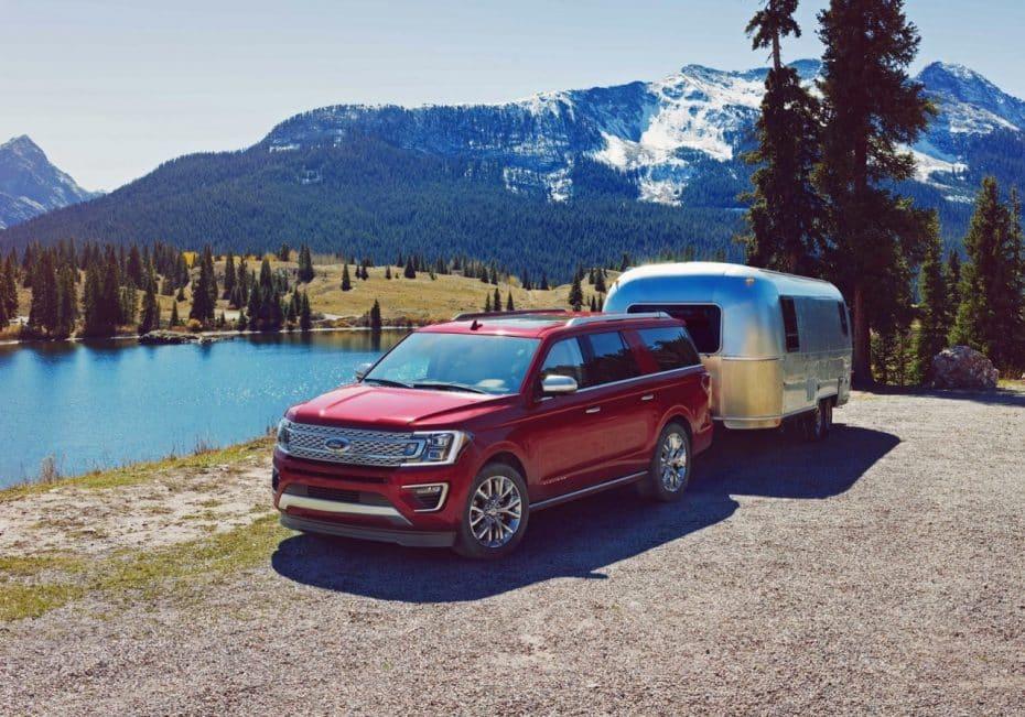 Más elegancia y refinamiento para el nuevo Ford Expedition, el hermano mayor del Explorer
