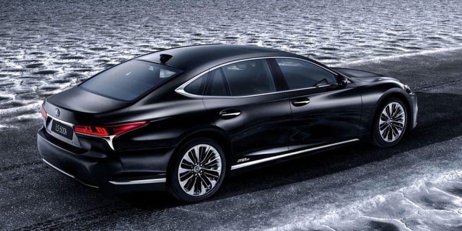Lexus llevará a Ginebra el nuevo LS500h: Lujo ecológico