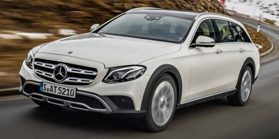 El Mercedes Clase E All-Terrain llega a España