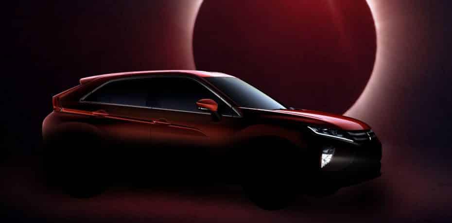 El nuevo SUV de Mitsubishi se llamará Eclipse Cross: El nombre de un icono, ahora para un SUV