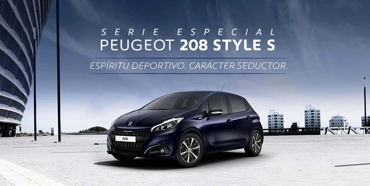 nueva serie especial style s para los peugeot 208 y 308. Black Bedroom Furniture Sets. Home Design Ideas