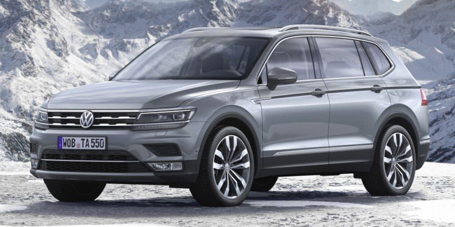 Así es el Volkswagen Tiguan Allspace para Europa: Un siete plazas que llegará en septiembre