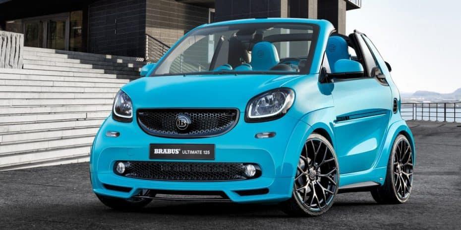 El nuevo Smart ForTwo Brabus «Ultimate 125» es chulo y muy caro: Prepara 50.000 €