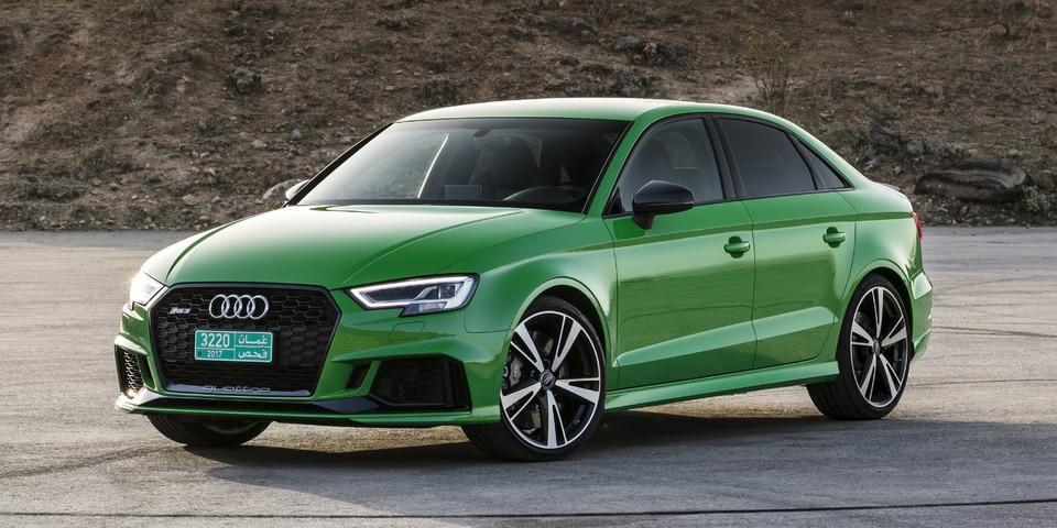 El brutal Audi RS3 ya está a la venta: En versiones Sedán y Sportback