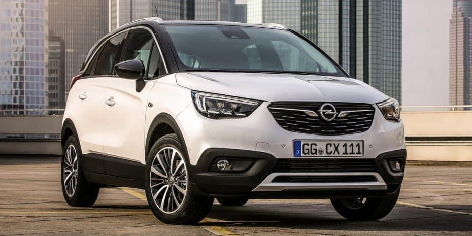 Todos los precios del nuevo Opel Crossland X para España
