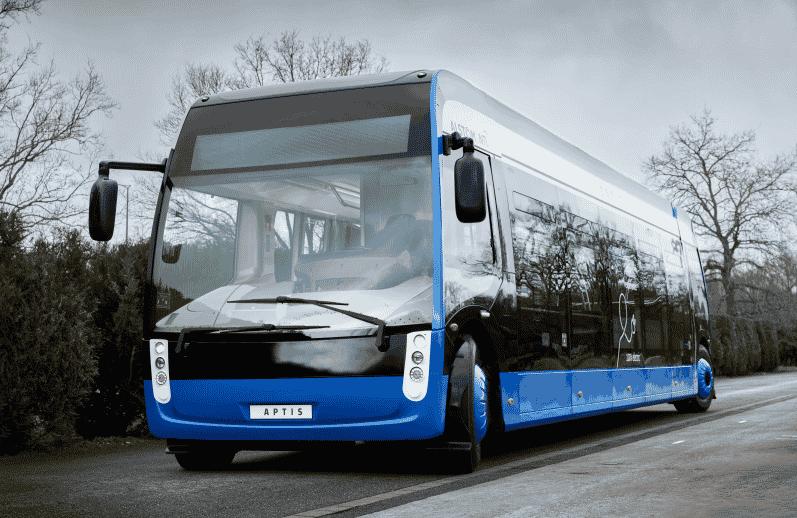 ¿Autobús o tranvía? Así es el Aptis, un vehículo eléctrico que llegará para reinventar el transporte público urbano