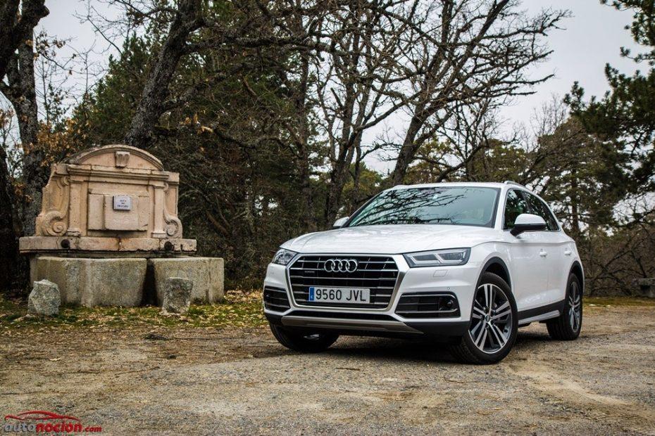 Contacto Audi Q5 2.0 TDI 190 CV quattro S tronic 2017: Tan superior que hereda casi todo del Q7