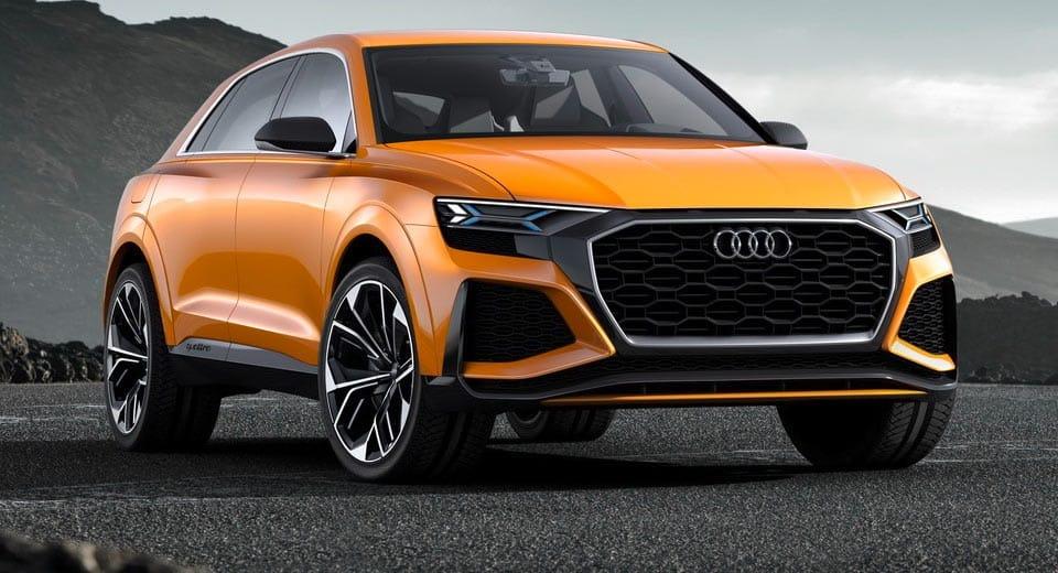 Audi Q8 Sport Concept: El Audi Q8 de producción cada vez más cerca ¡Y será imponente!