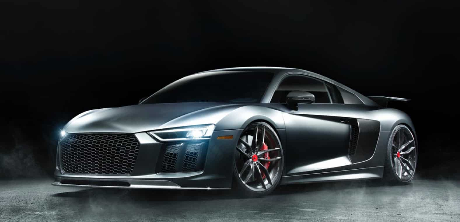 Vorsteiner se ha puesto manos a la obra con el nuevo Audi R8 ¿El resultado? Espectacular…