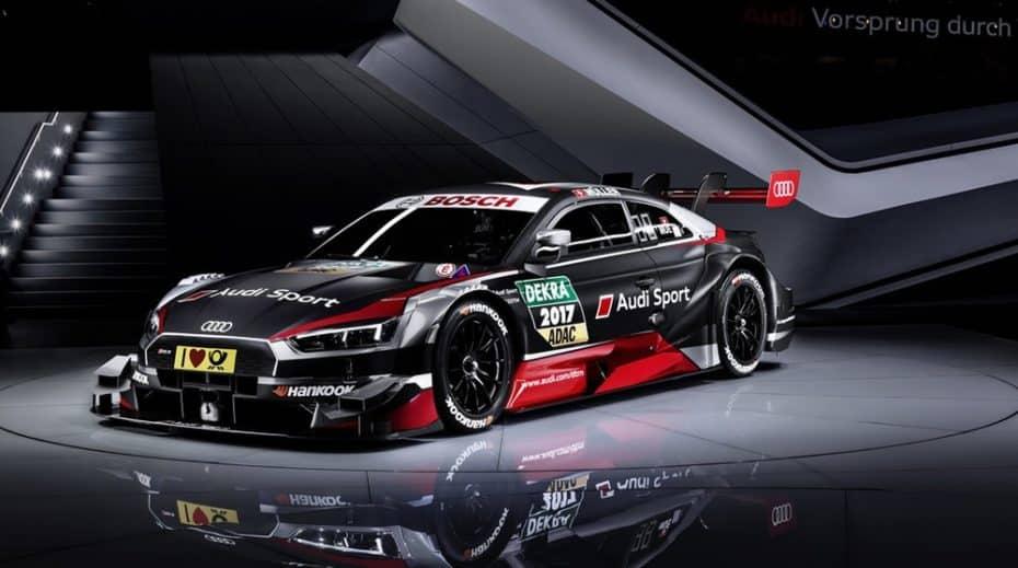 Ginebra nos sorprende con el Audi RS 5 DTM 2017: Más y mejor para seguir arrasando en la pista