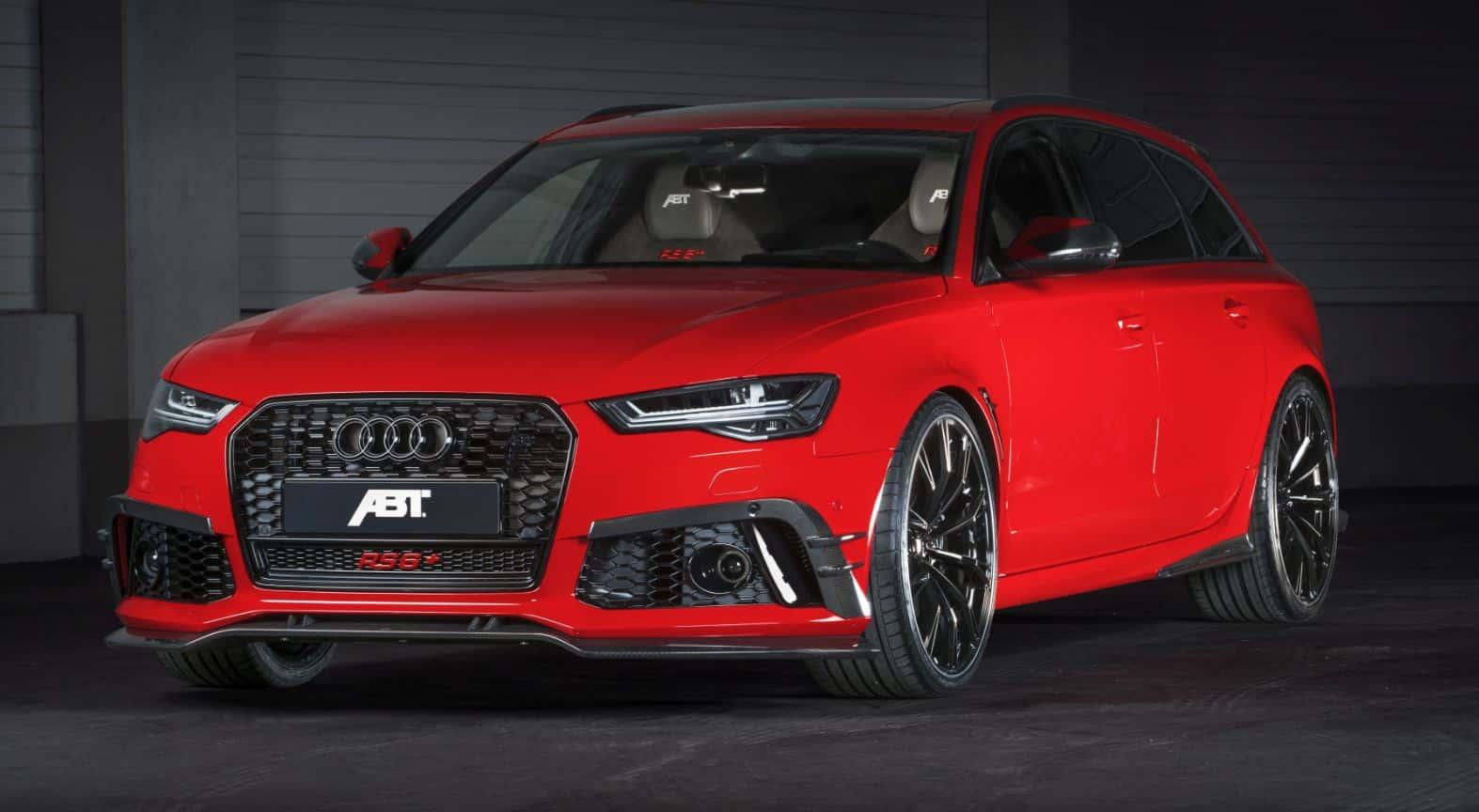 ABT RS6+: Sólo habrá 50, tendrán casi 700 CV y detalles únicos…
