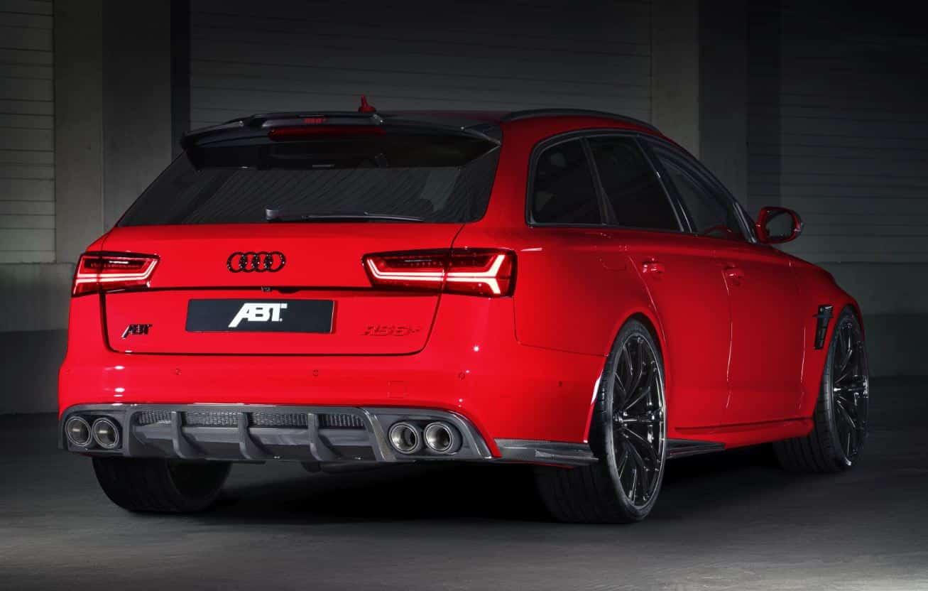 Audi RS6 + ABT 8
