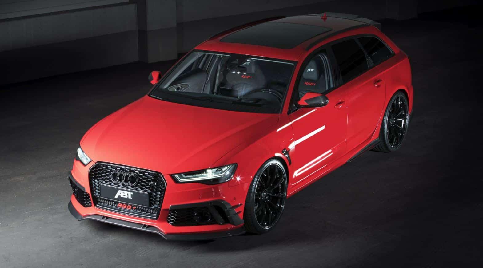 Audi RS6 + ABT 9