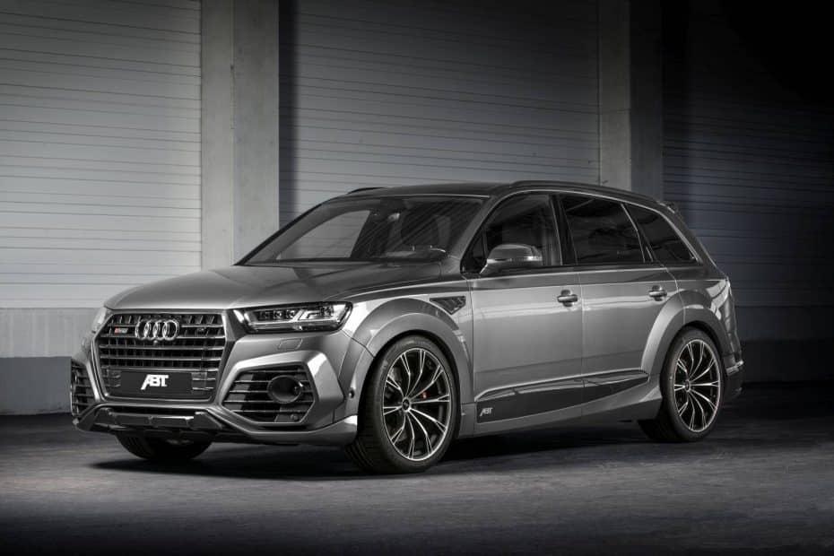 El último Audi SQ7 de ABT con 520 CV es todo un 'Batmovil' en formato SUV