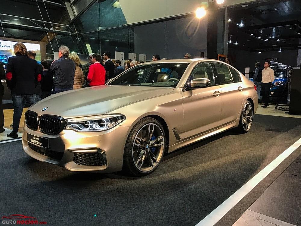 Conocemos en directo el nuevo BMW M550i xDrive: ¿Qué tiene de 'M' aparte de sus 462 CV?