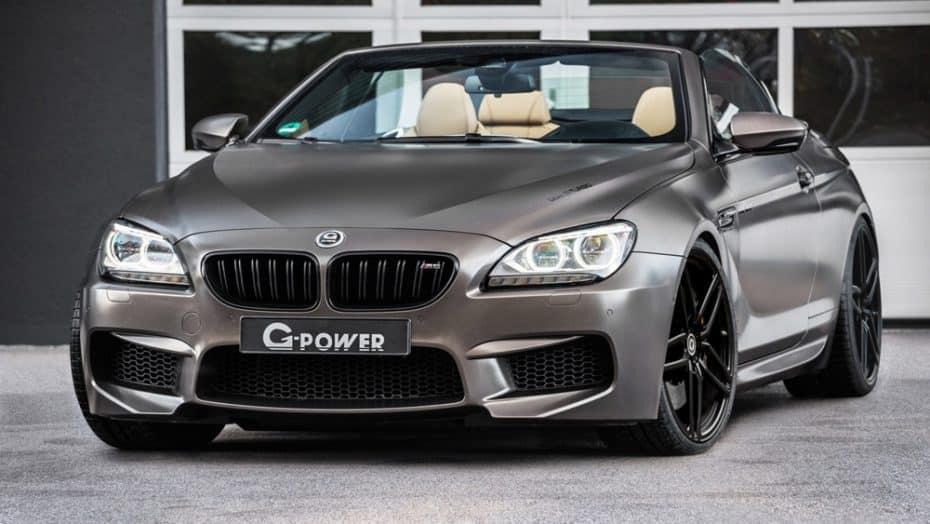 La última fiera de G-Power sobre el BMW M6 Cabrio gana nada menos que 200 CV extra y 350 Nm