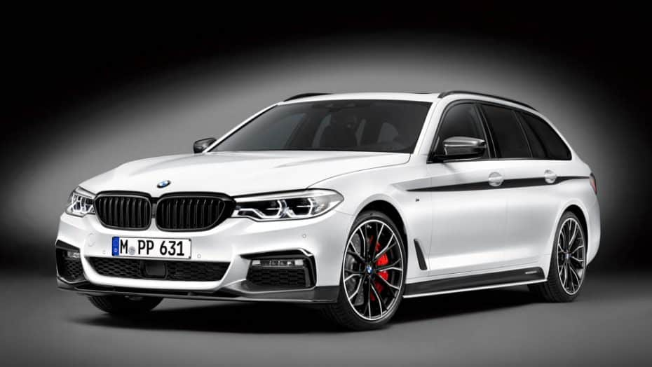 BMW M Performance ha transformado el BMW Serie 5 Touring: Ahora es un familiar digno de circuito