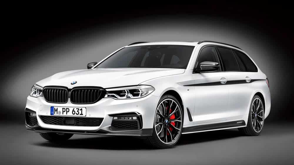 BMW M Performance ha transformado el BMW Serie 5 Touring: Ahora es un familiar digno de circuito