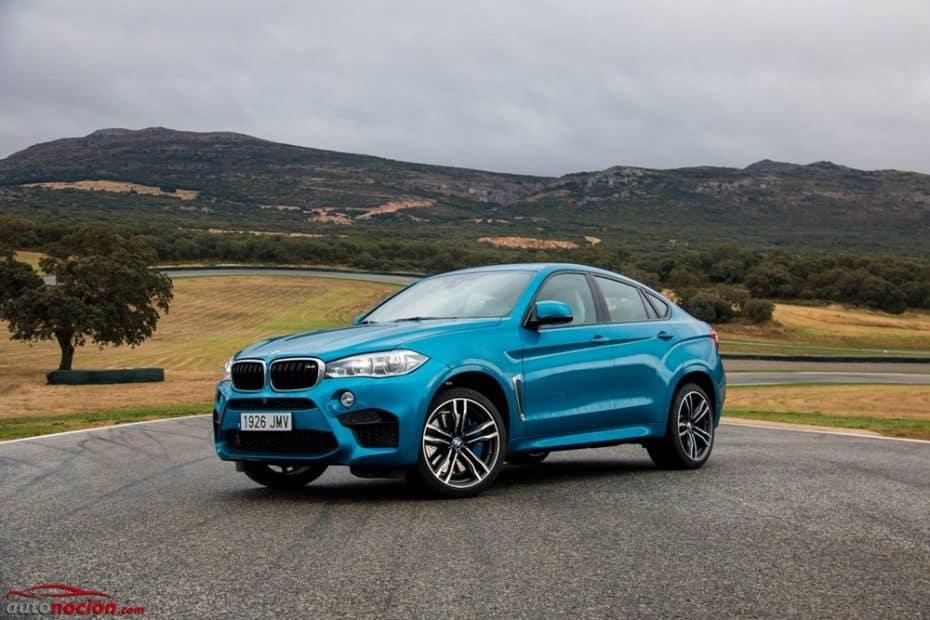 Prueba BMW X6M: 575 CV y 750 Nm para ser el rey de la carretera y el príncipe de los circuitos