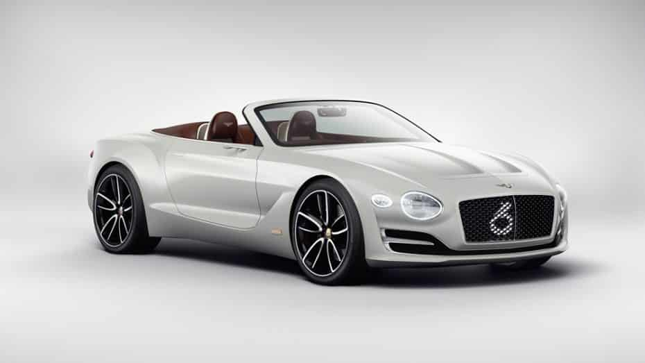 Bentley EXP 12 Speed 6e Concept: El futuro del lujo eléctrico ahora en versión eléctrica y cabrio