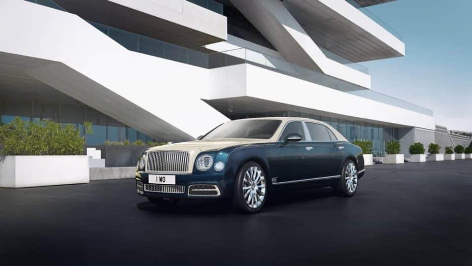 Bentley Mulsanne Hallmark Series by Mulliner: Oro y plata para una bestia de 537 CV y 1.100 Nm