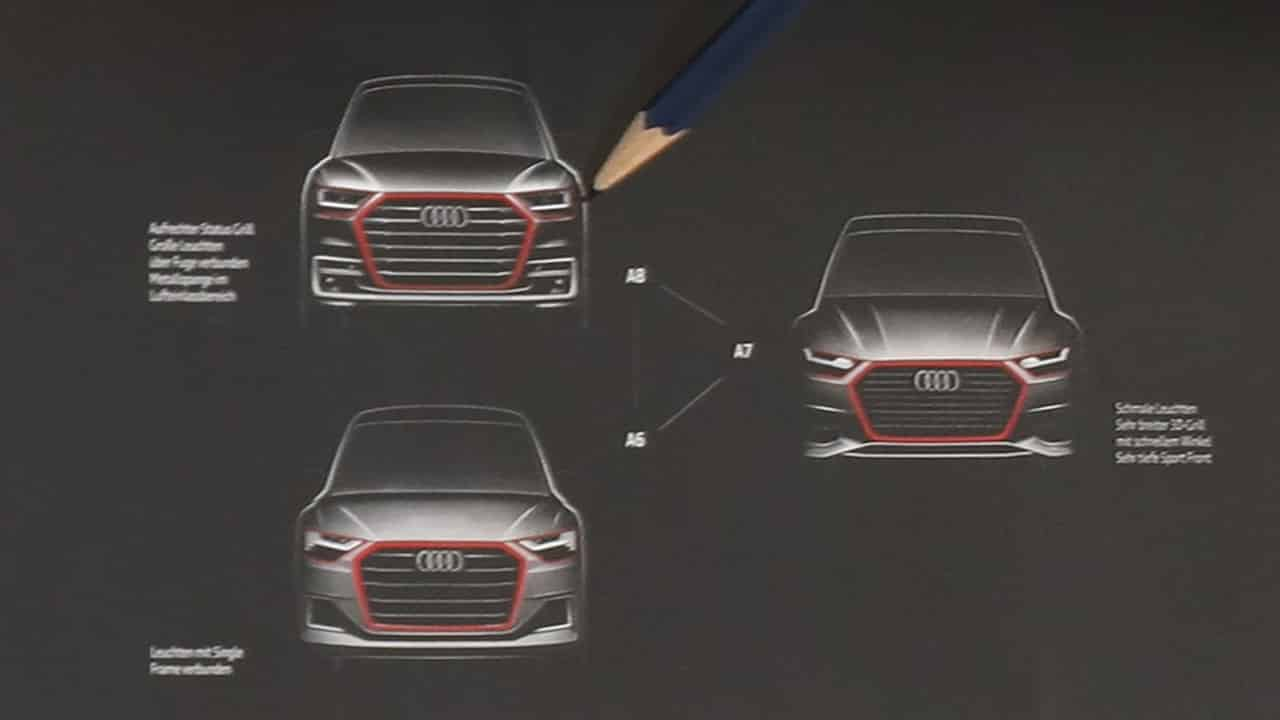 Bocetos Audi