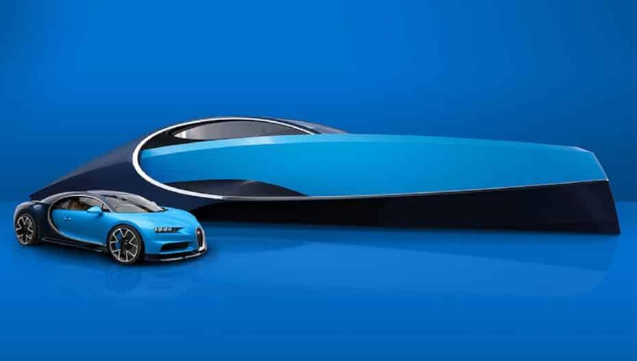 Bugatti Niniette 66: Así es el compañero perfecto del Chiron para surcar los mares con clase