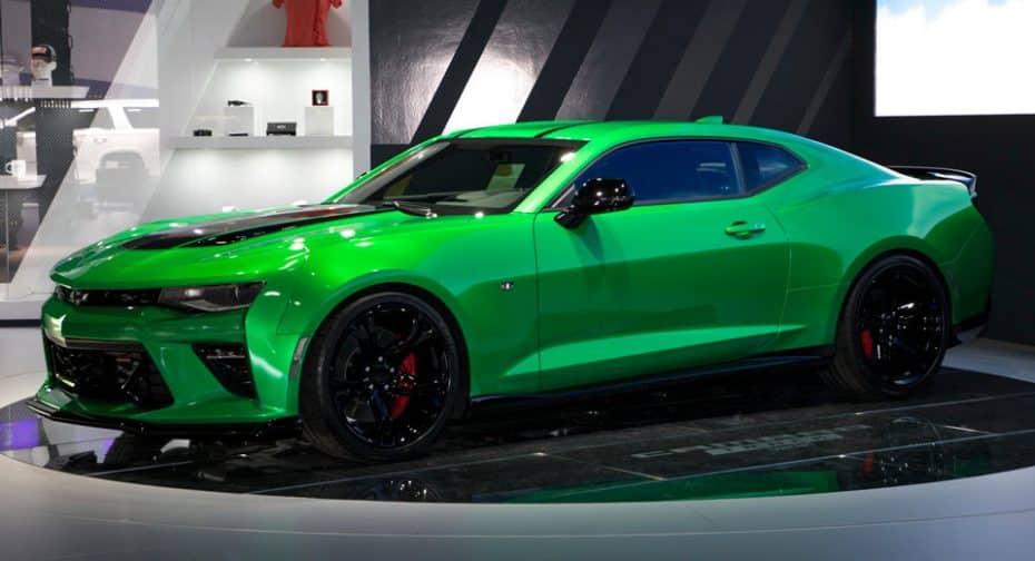 Así es el Chevrolet Camaro Track concept: Un muscle car más radical y con 453 CV de puro músculo