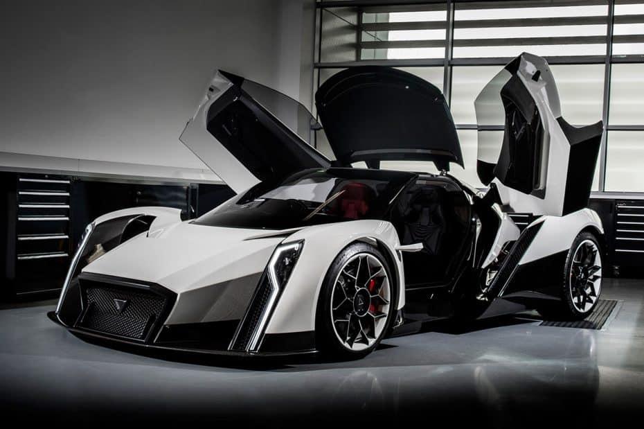 Dendrobium EV Concept: El superdeportivo eléctrico capaz de acelerar de 0-100 km/h en 2,7 segundos