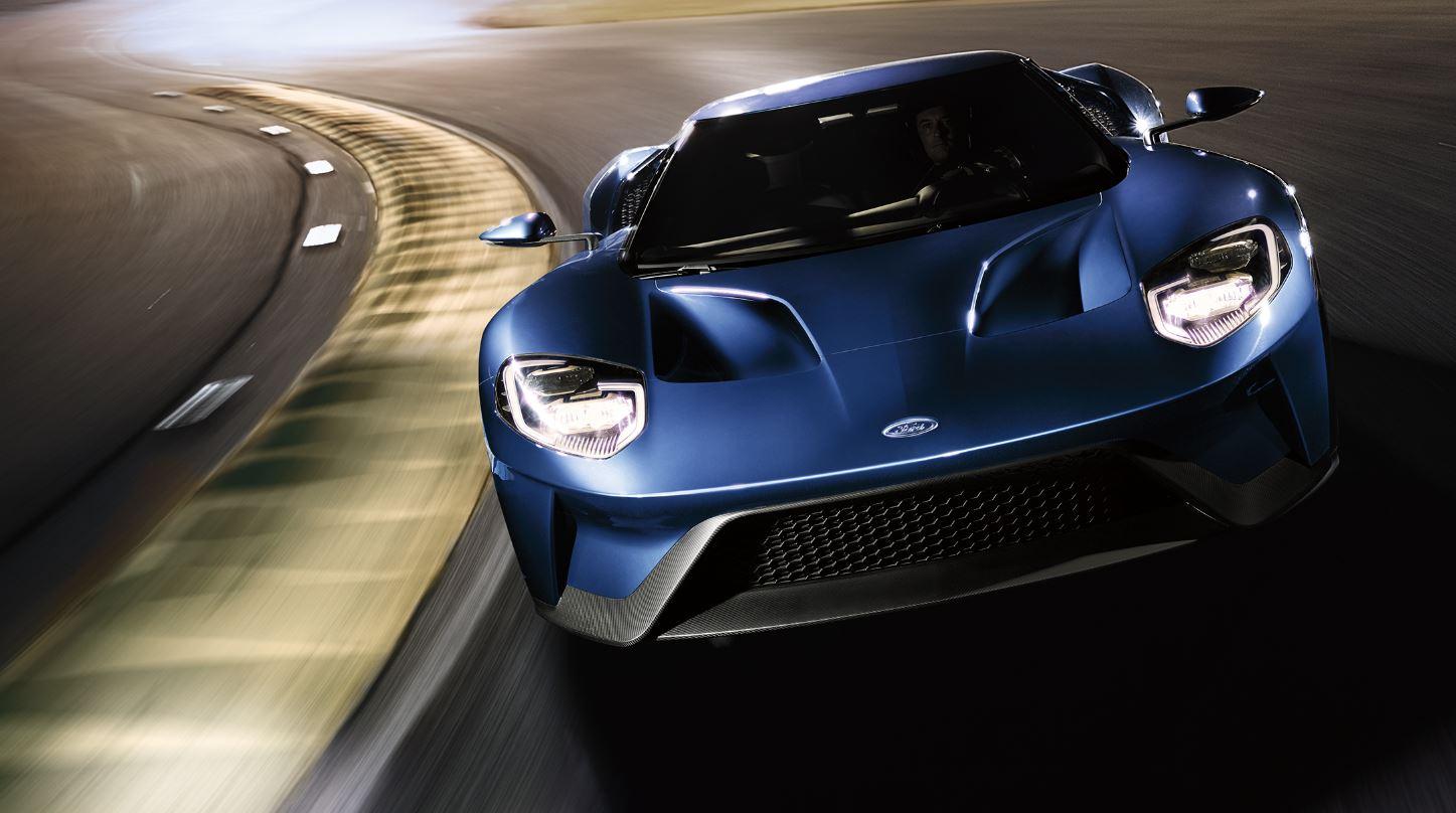 """El Ford GT: Un modo """"velocidad máxima en línea recta"""" que desatará la locura…"""