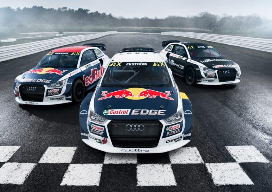 Audi y EKS: A por el inicio del Campeonato del Mundo FIA de Rallycross con el Audi S1 EKS RX quattro