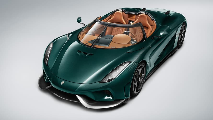 Koenigsegg Regera Racing Green