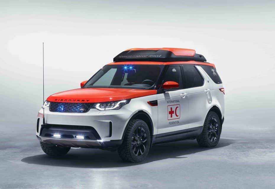 Land Rover Discovery Project Hero: Un 4×4 con dron para que la Cruz Roja llegue a la cima